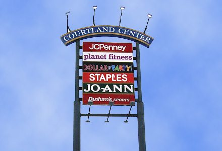 Courtland Center Mall Signs By Crannie