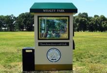 outdoor park kiosk