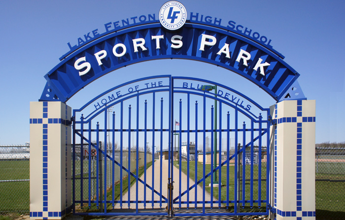 Lake Fenton High School Sports Complex Signs By Crannie