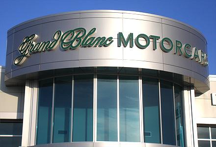 Grand Blanc Motors Letters