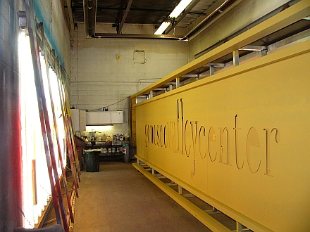 sign paintbooth