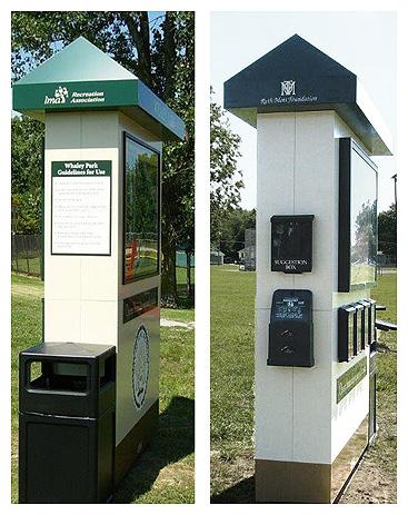 park kiosk