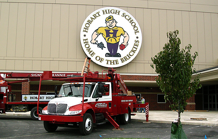 hobart high school signs by crannie