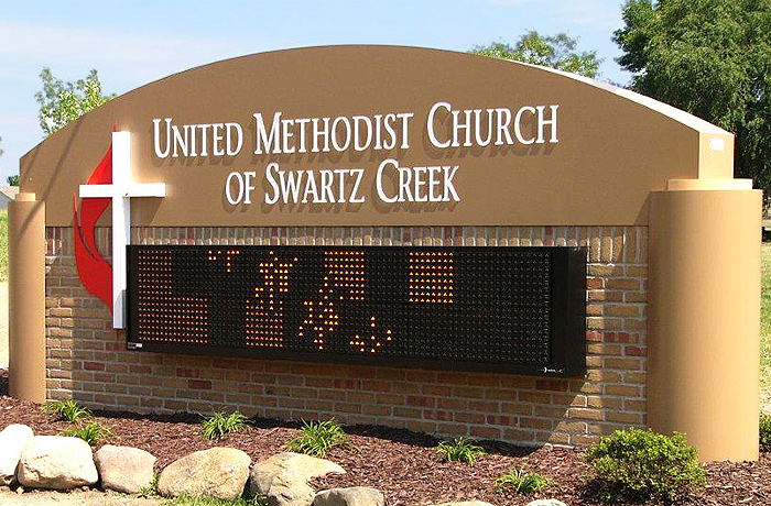 United Methodist Church Of Swartz Creek Signs By Crannie