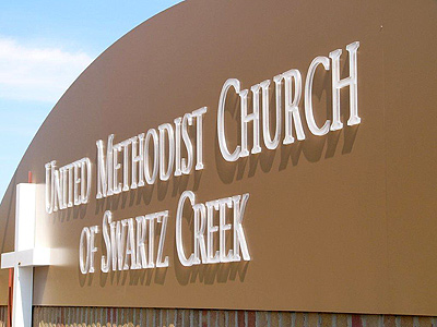 United Methodist Church Of Swartz Creek Signs By Crannie