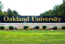 Oakland-University-sign
