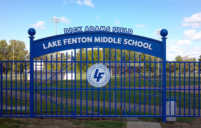 lake-fenton-middle-school-archway