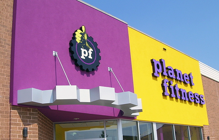 Planet Fitness Awning Fort Gratiot Michigan Signs By