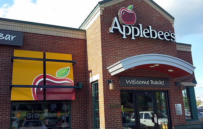 Applebee S Sign Awning Amp Sunscreen Gaines Twp Michigan