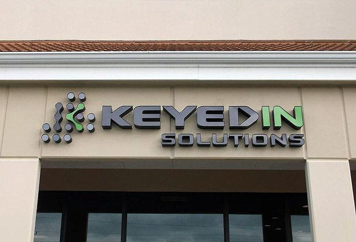 Keyedin Solutions Logo Signage Florida Signs By Crannie
