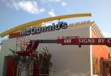 subcontracted sign installation