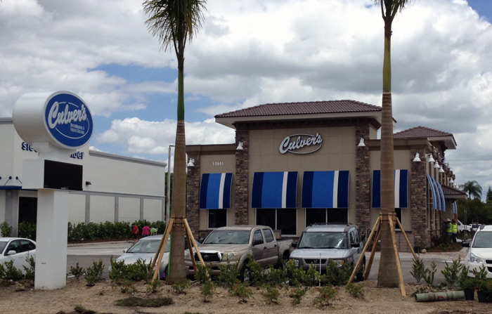 fort myers culvers construction
