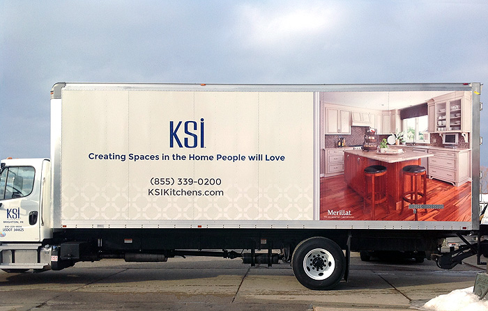 Beau Custom Vehicle Wraps, KSI Kitchens