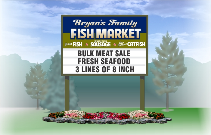 How Much Does a Outdoor Business Sign Cost?