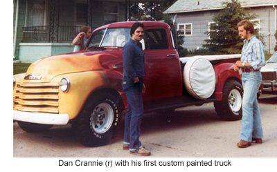 custom painted truck