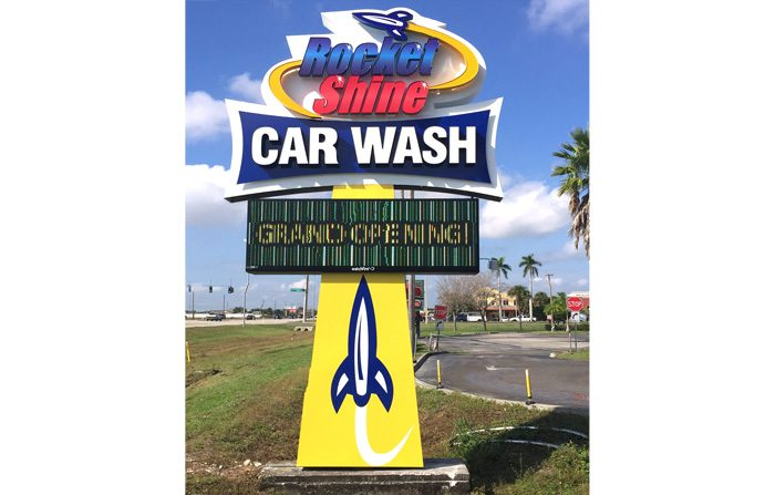 Car Wash Sign Fort Myers Fl Signs By Crannie