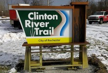 trail marker signs