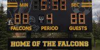 high school soccer score board
