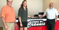 Amber Taylor Signs by Crannie