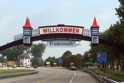 arch sign frankenmuth mi