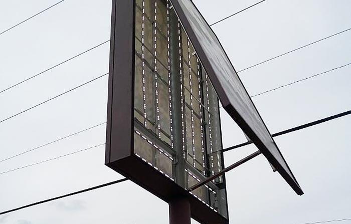 Inside LED sign retrofit
