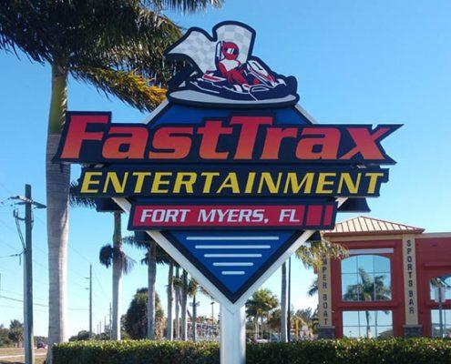 LED Sign Retrofit in Florida